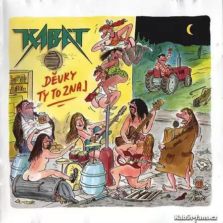 Album  Děvky ty to znaj - Diskografie - Novinky - Kabat-Fans.cz 858b38d18ef