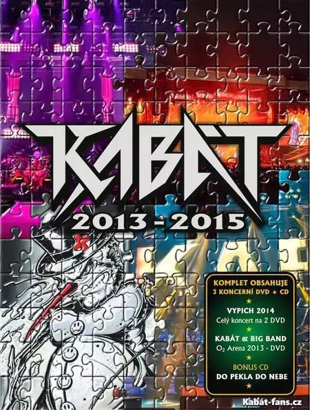 Booklet KABÁT 2013 – 2015   Vypich 2014   O2 Aréna Turné KABÁT   Big Band 25290e8af2