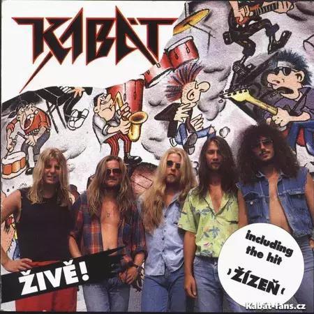 Album  Živě - Diskografie - Novinky - Kabat-Fans.cz 71bb0185a0f